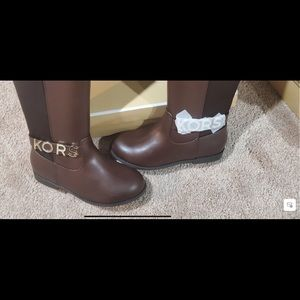 Girls Michael Kors Knee Boots